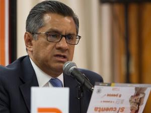 Joel Ortega. Ex titular del STC.