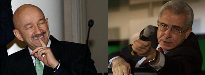 Carlos Salinas (izq.) y Ernesto Zedillo (der.)