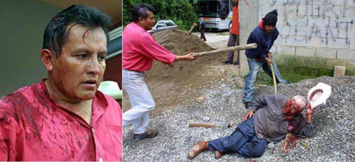 "Jacinto Pineda Casimiro, alias ""El Diablo""."