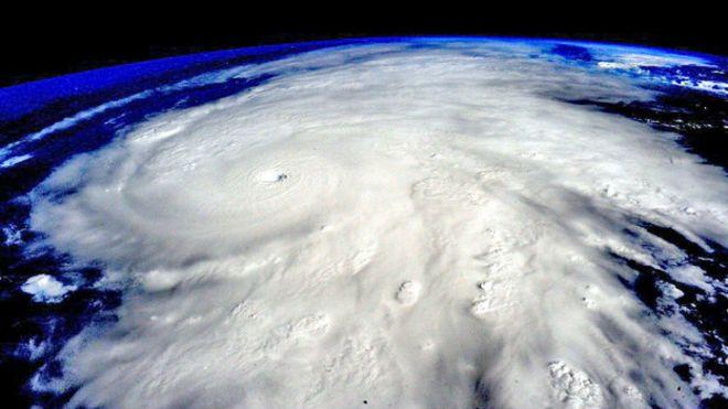Foto captada desde la Estación Espacial Internacional.