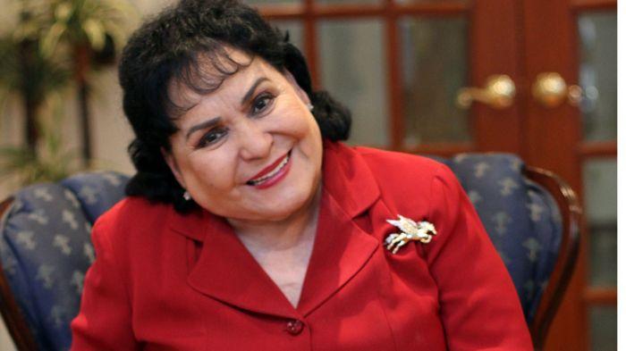 La diputada Carmen Salinas.